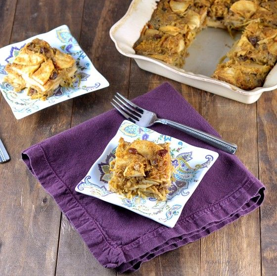 Cara's cravings Passover Spaghetti Squash Kugel with Apples