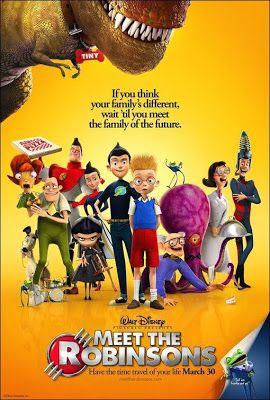 Películas y adopción: Descubriendo a los Robinsons (Meet the Robinsons) (2007)