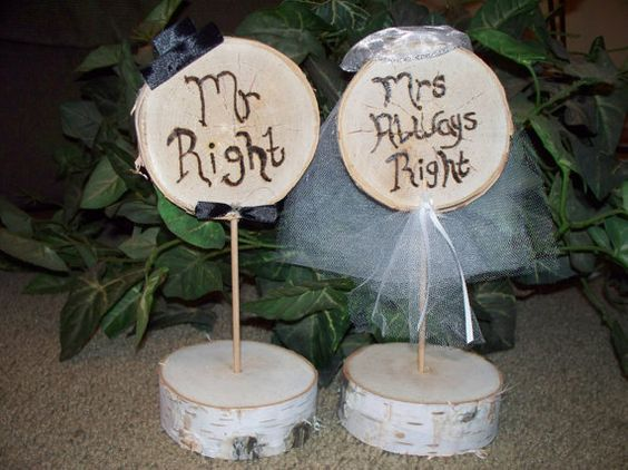 Rustic Grooms Cake Table | Rustic Wedding Bride U0026 Groom Table Settings,  Funny Bride Groom Part 34