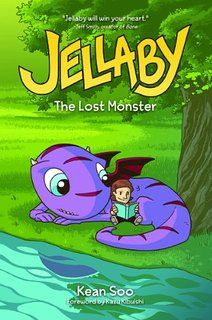 The most adorable monster in the world.  Learn more at GoodReads: https://www.goodreads.com/book/show/2693619-jellaby