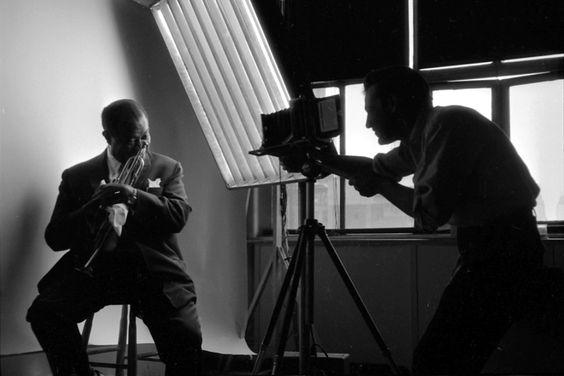 Louis Armstrong & Bert Stern.  Bert Stern: The Original 'Mad Man' - LightBox