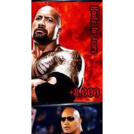 The Rock IS cookin'