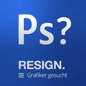 Wir suchen einen Grafiker/in - Freie Grafiker Stelle Zürich www.resign.ch/job