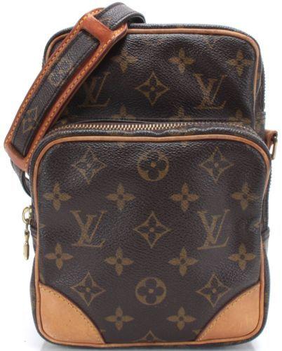 LOUIS VUITTON Brown Monogram Canvas Amazon Crossbody Handbag https://t.co/VpgwXidiJW https://t.co/htypA2gzUb