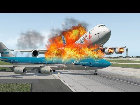 American Airline B747 Almost Crash Klm Boeing 747 When Takeoff X Plane 11 Youtube American Airlines Boeing 747 Airline