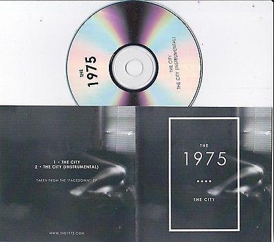 THE 1975 THE CITY RARE 2 TRACK PROMO CD https://t.co/uAdOjRb3Zf https://t.co/Fb4qtt3qxN