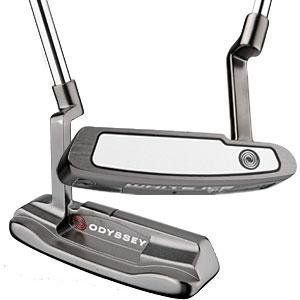 Odyssey White Ice 1 Putter (34, Right Hand) by Odyssey. Save 38 Off!. $99.99. White Ice Putters from Odyssey combine Tour-proven looks with Tour-inspired feel with a dark nickel finish, Developed after extensive feedback from players on Tour, our engineers have enhanced the sound, responsiveness and consistency of the insert.                         Enhanced Responsiveness and Consistency The White Ice multi-layer insert has been fine-tuned to enhance sound, responsiveness, resiliency and...