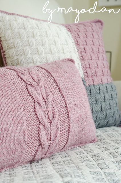 Pin von Studio Knit Best Knitting Pa auf Knit Hygge Pillow