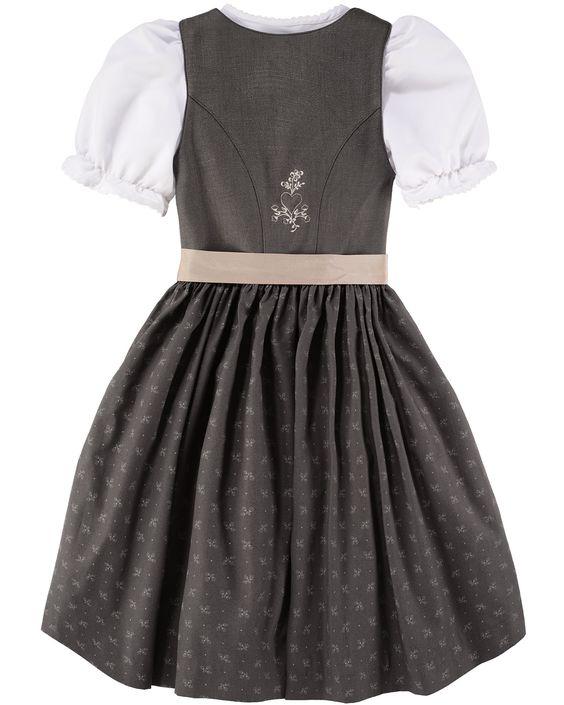 LODENFREY Mädchen-Wiesndirndl 2016 mit Bluse und Schürze