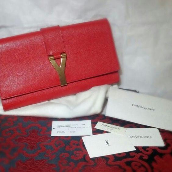 authentic ysl yves saint laurent small sigature bag