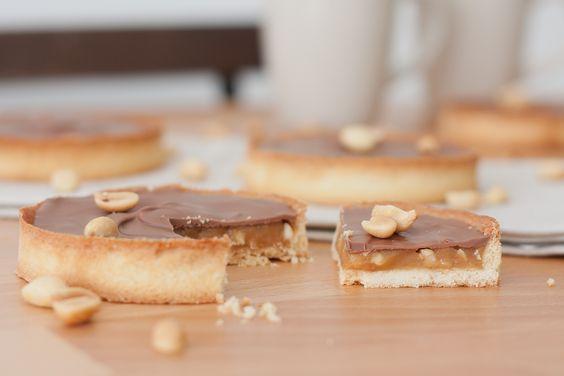 Tartelette au caramel façon Snickers® – Le goût des Ôtres