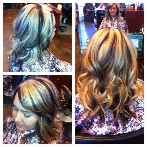 Blonde and violet hair Las Vegas area hairstylist  Follow me on Instagram! @Sharon Macdonald Van Tonder Forrester