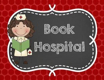 Book Hospital Sign FREEBIE