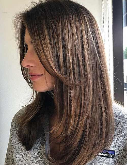 50 Stunning Medium Length Haircuts And Styles For Thick Hair Medium Length Hair Straight Haircuts For Medium Hair Thick Hair Styles