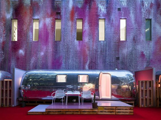 Melbourne's newest boutique hotel is Notel – a set of Airstream caravans on a…