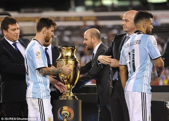 Messi was left heartbroken yet again as he lost another final with the Argentina…