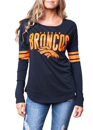 Denver Broncos Womens Spirit Football Jersey...I have this and love it!