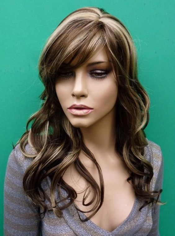 dark brown hair with caramel underneath | My Style ...