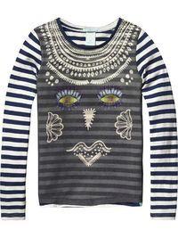 T-Shirt & Tops für Mädchen | Scotch R'Belle Mädchenbekleidung | Offizieller Scotch R'Belle Online-Store