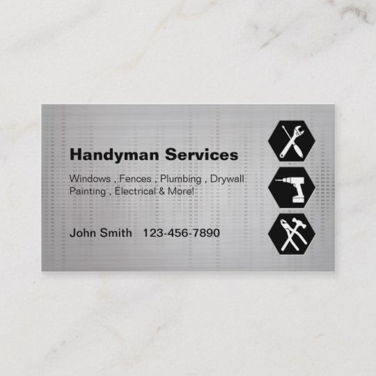 Handyman Construction Remodeling Business Cards Zazzle Com Remodeling Business Construction Remodeling Construction Business Cards