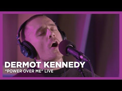 Dermot Kennedy Power Over Me Live At Kiss 92 5 Youtube