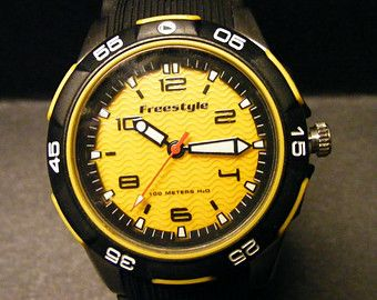 Men's Freestyle Watch, Water Resistant, Never Used