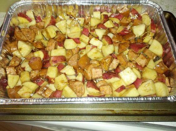 how to make onion soup mix potatoes