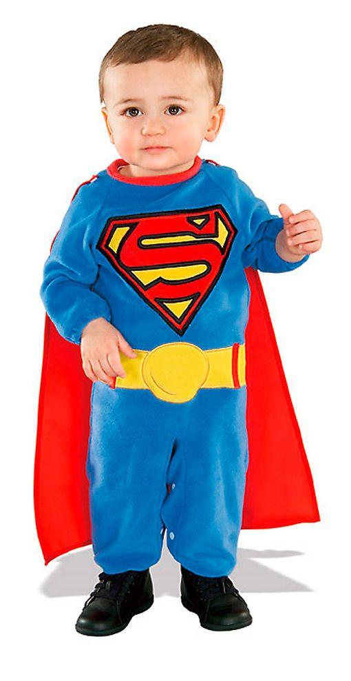 Superman Kleinkinder Kostüm  Original Superman Kostüm für Babys   horror-shop.com  #Superman #Superhero