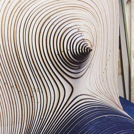 #Imaginary #instalacion #Uruguay #texture #cnc #lasercut #3dmodel #fabricaciondigital #farq #vidialab #design #geometry by vidialabfarq