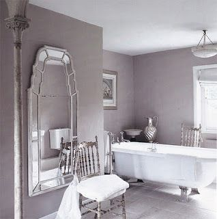 Lilac bathroom grayish purple bathroom grayish bathroom - Purple and silver bathroom ...
