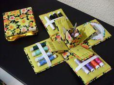 Como fazer artesanato: Caixa de Costura - Passo a Passo