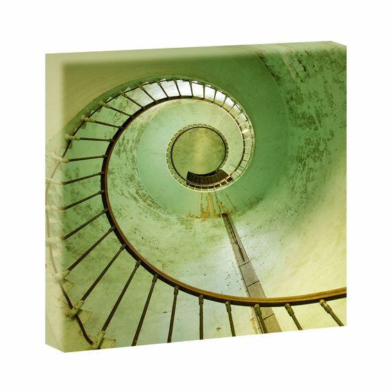 Top Bilder Kunstdruck auf Leinwand - Aufstieg hell-40cm*40cm V0410006-1