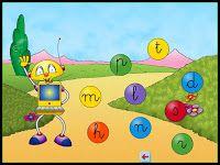 Tic leo con alex  libro 1 es de vocales  libro 2 y 3 consonantes http://educajuegosparaleer.blogspot.com.es/2014/10/juego-educativo-para-el-aprendizaje-de.html: