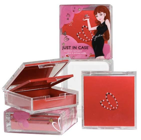 OrganicLoven.com - Just In Case Classic Condom Compact - Rendezvous Red, $24.95 (http://www.organicloven.com/just-in-case-classic-condom-compact-rendezvous-red/)