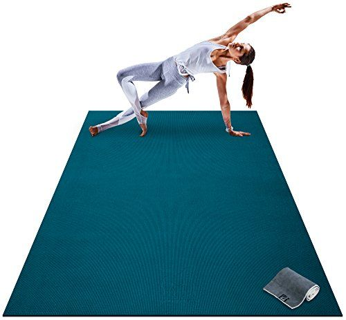 Premium Large Yoga Mat 7 X 5 X 8mm Extra Thick Ultra Large Yoga Mat Large Workout Mat Mat Exercises