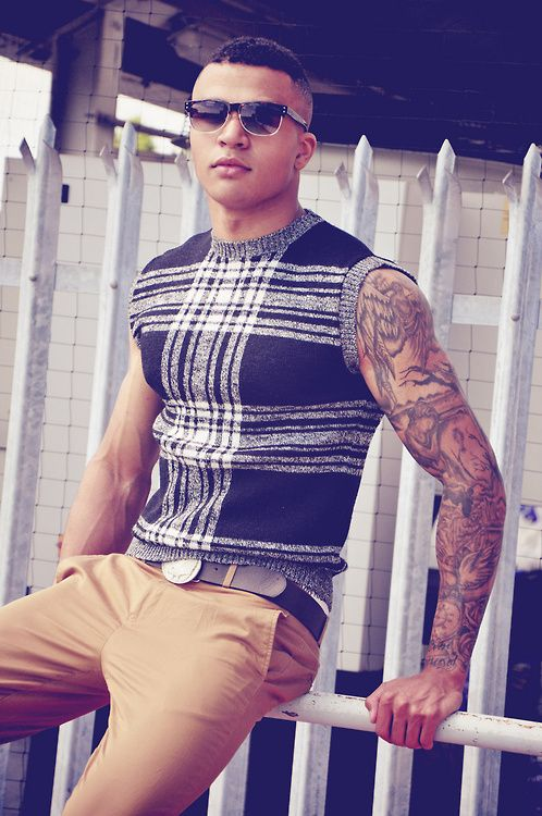 Fitted sweater vest with no dress shirt. Amazing! | Cardigans For ...