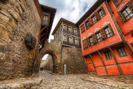My hometown - Plovdiv    Plovdiv, old town.