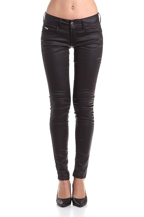 Calça Jeans Preta  Ref. 20105406-618