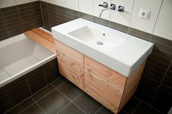waschbecken unterschrank bauanleitung zum selber bauen. Black Bedroom Furniture Sets. Home Design Ideas