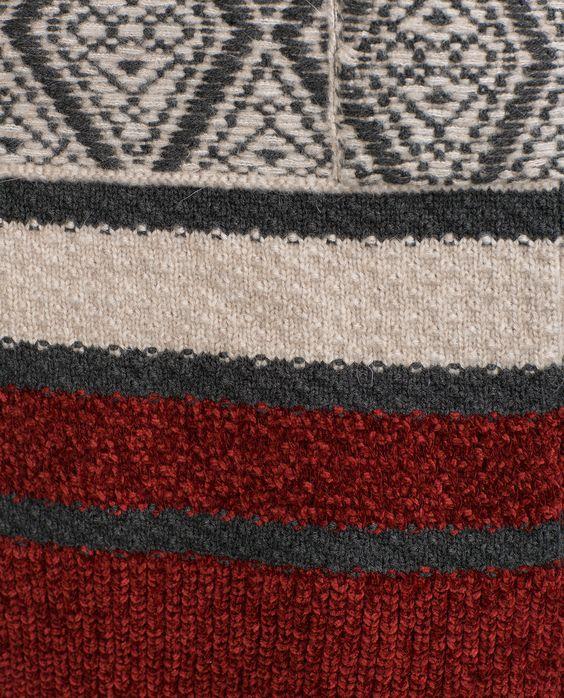 JACQUARD COAT - View all - Knitwear - WOMAN | ZARA United Kingdom