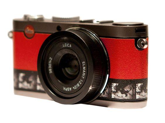 Pour la première fois Leica co-signe avec Gilles Ouaki et L'Eclaireur 30 exemplaires numérotés et signés d'un appareil photo LEICA X1.