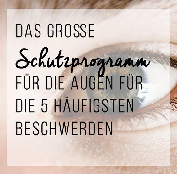 Das große Schutzprogramm für die Augen für die 5 häufigsten Beschwerden: Etwa 50 Millionen Deutsche brauchen eine Brille. Aber die gesetzlichen Kassen zahlen schon lange nicht mehr. Deshalb ist es gut zu wissen, was die Sehkraft lange erhält, wie die Augen gepflegt werden können und welche Beschwerden mit einfachen Mitteln in den Griff zu bekommen sind.