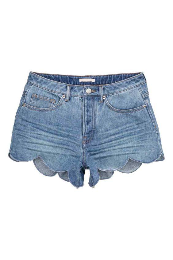 Denim shorts | H&M: