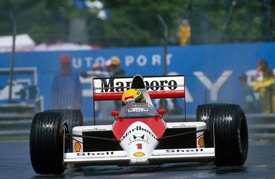 Ayrton Senna - McLaren MP4/5 Honda RA109A 3.5 V10  1989 Canadian Grand Prix