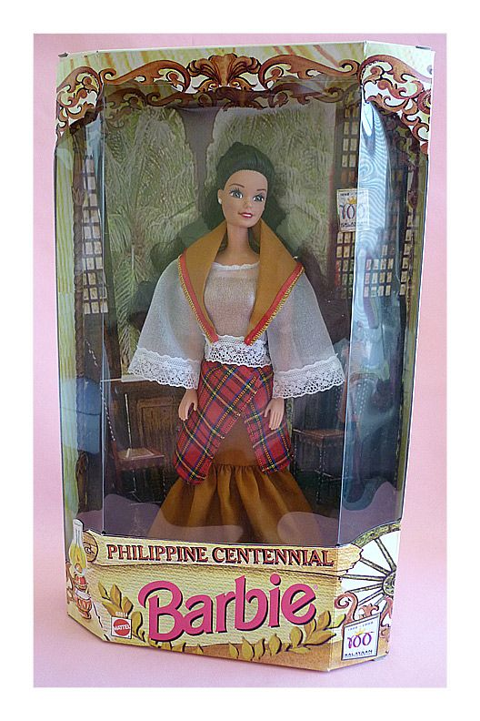 Phillipine Centennial Barbie My sister has this Barbie that my dad sent her from the phillipines.