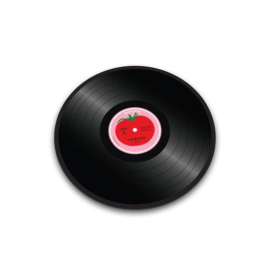 Tomato Vinyl Worktop Saver