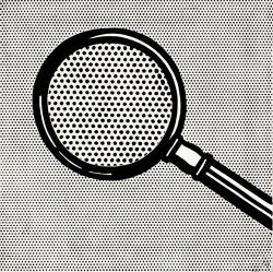 Roy Lichtenstein, Magnifying Glass, 1963