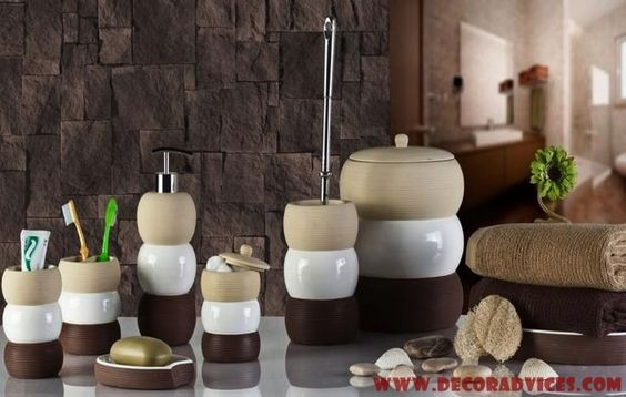 Bathroom Accessories Set To Polish The Look Of Your Bathroom - http://www.decoradvices.com/bathroom-accessories-set-to-polish-the-look-of-your-bathroom/