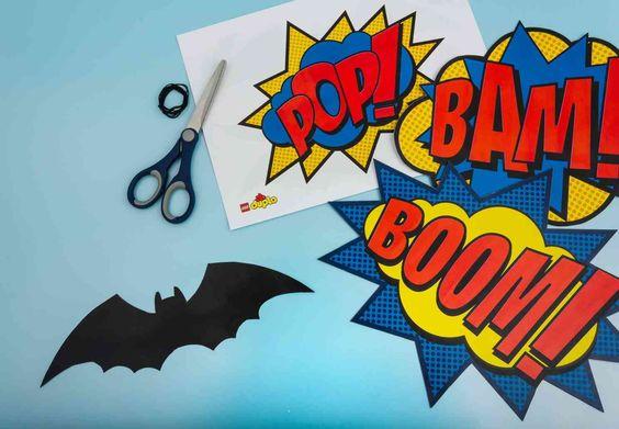 De formidables imprimés pour une fête sur le thème des super héros - Articles - Family LEGO.com