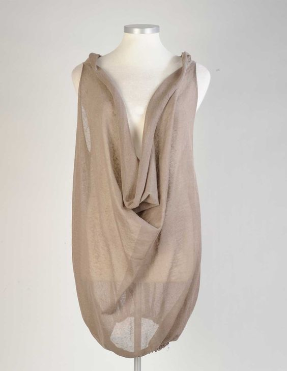Cinzia Caldi Knitted Linen Long top. Another great weekend top! Plus Size Fashion!